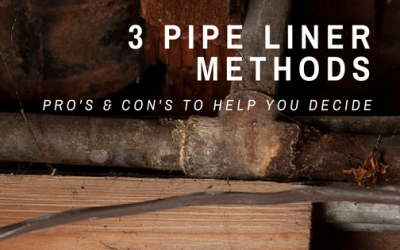 How to Find the Right Pipe Liner Method for Your Corroded Plumbing Pipes