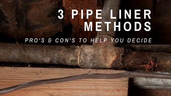 3 Pipe Liner Methods