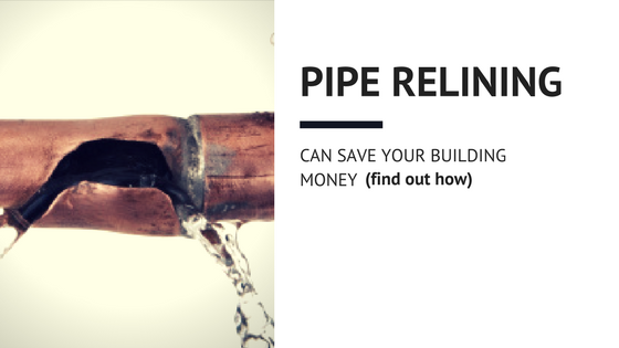 How Pipe Relining Can Save Your Building on Drywall Costs