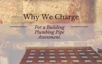 Why We Charge for a Plumbing Pipe Assessment