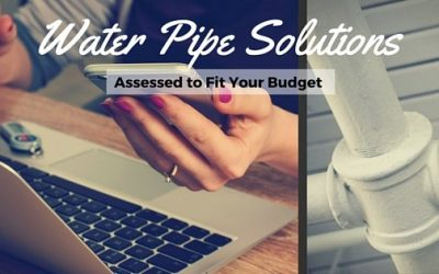 Water Pipe Assessment Solutions to Fit Your Budget