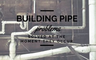 The No-Stress Way to Solve a Building Plumbing Pipe Problems