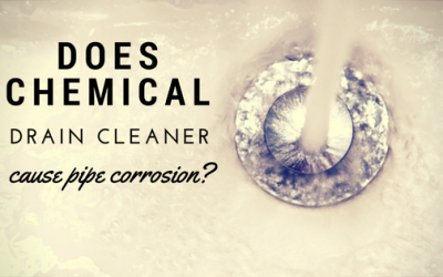 Does Chemical Drain Cleaner Cause Plumbing Pipe Corrosion?
