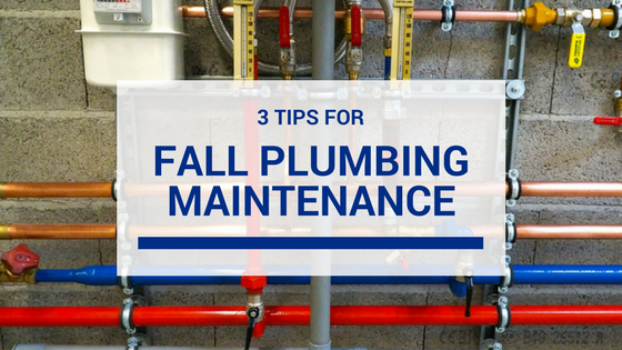3 Fall Plumbing Building Maintenance Tips