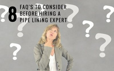 8 Questions to Ask before Hiring a Chicago Pipe Lining Expert