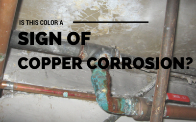 Is Copper Pipe Corrosion Causing my Plumbing Pipes to Change Color?