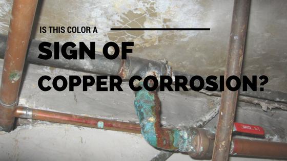 color of copper corrosion