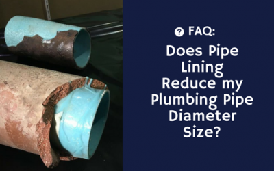 Will Internal Pipe Coating Reduce my Plumbing Pipe Diameter Size?