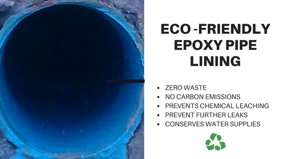 5 Reasons Epoxy Lining is an Eco-Friendly Pipe Rehabilitation Solution