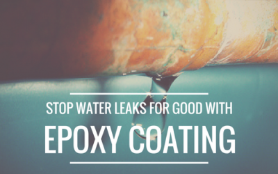How Epoxy Coating for Your Building's Copper Water Lines Stops Water Leaks