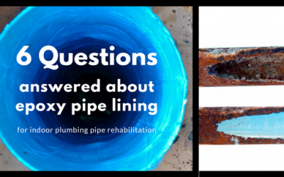 FAQ: Pull in Place Pipe Lining for Indoor Plumbing Rehabilitation