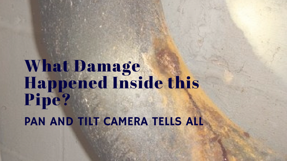 Pan and Tilt Camera Identifies Cause of Your Chicago Plumbing Leak