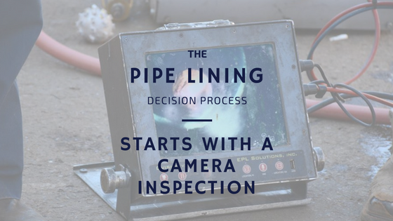 The First Critical Step in the Pipe Lining Process