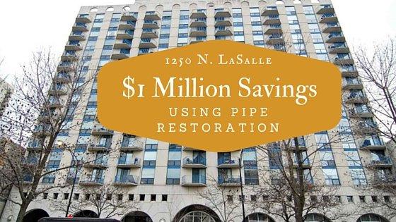 $1 Million Savings With Pipe Restoration