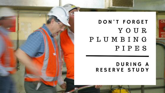 plumbing pipe assessment_reserve study