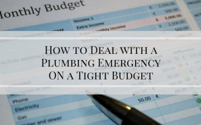 How to Deal with a Plumbing Emergency on a Tight Budget