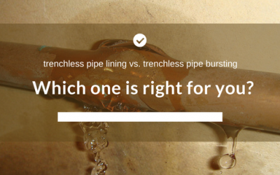 Trenchless Pipe Lining vs. Trenchless Pipe Bursting