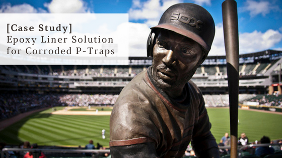 [Case Study] Innovative Epoxy Liner Solution Coats P – Traps at US Cellular Field