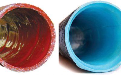 Blue Epoxy vs. Red Epoxy Pipelining