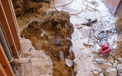 Need New Plumbing Pipes? If You're Considering Traditional Pipe Replacement, You May Be Surprised at the Amount of Demolition That's Required